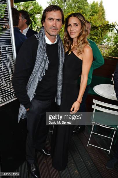 Adolfo Cambiaso and Maria Vazquez attend a private dinner hosted by Cartier to celebrate the opening of the British Polo Season at Casa Cruz on May...