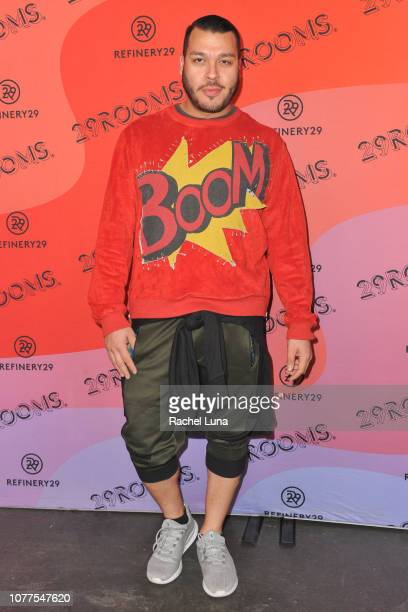 Adolfo Sanchez attends Refinery29's 29Rooms Los Angeles 2018 Expand Your Reality at The Reef on December 04 2018 in Los Angeles California