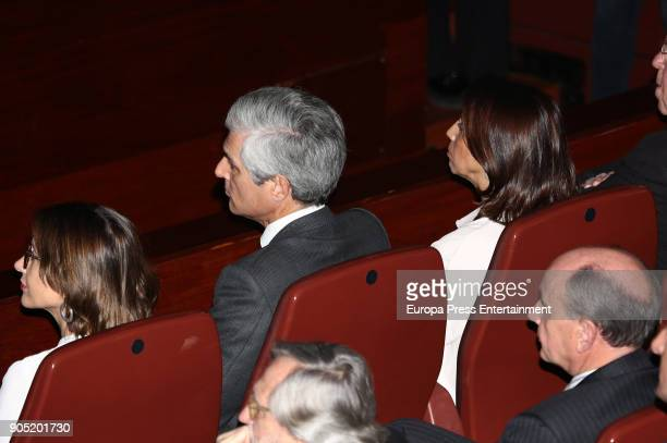 Adolfo Suarez Illana 2L attends Terrorism Victims Foundation Awards at Reina Sofia Museum on January 15 2018 in Madrid Spain