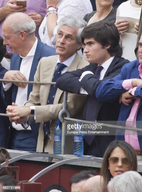 Adolfo Suarez Illana attend 'San Isidro' Bullfight Fair at Las Ventas bullring on May 15 2017 in Madrid Spain