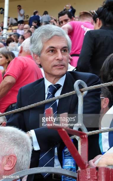 Adolfo Suarez Illana attends San Isidro Fair at Las Ventas Bullring at Las Ventas Bullring on June 1 2017 in Madrid Spain