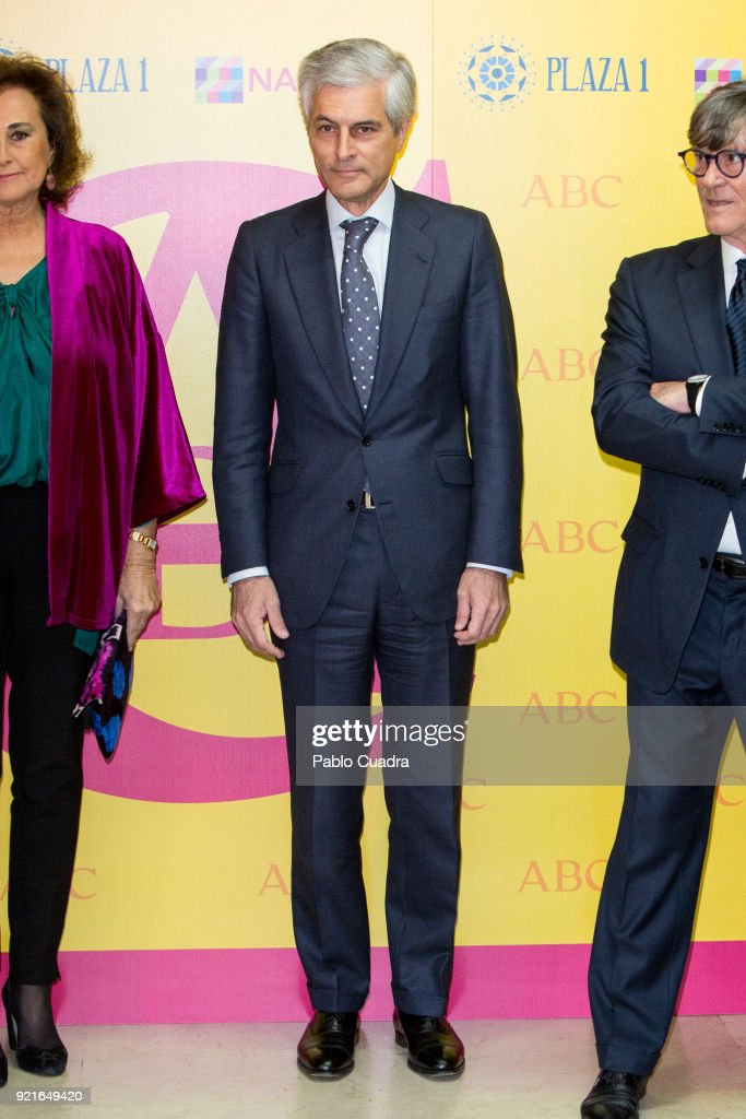 Adolfo Suarez Illana attends the 'Premio Taurino ABC' awards at the ABC Library on February 20, 2018 in Madrid, Spain.