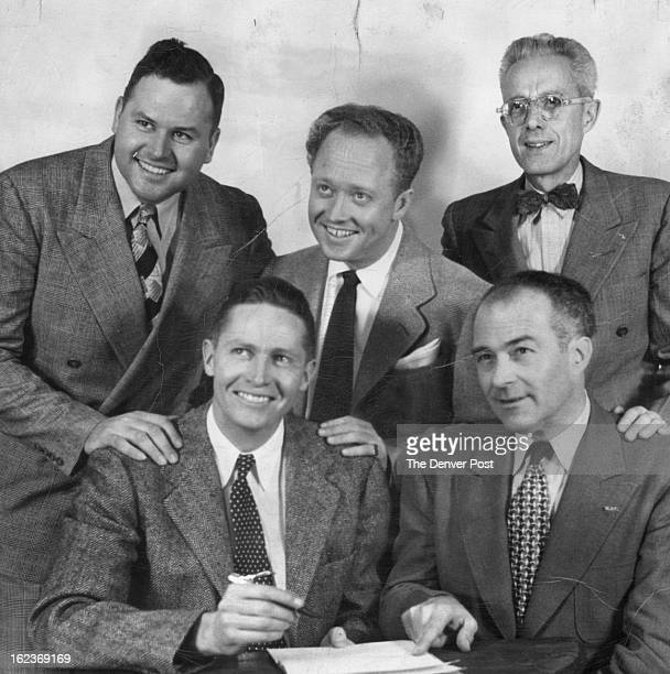 NOV 6 1949 FEB 18 1950 Adolph Coors III signs a contract representing an expenditure of more than $70000 with Al G Meyer manager of KMYR and...