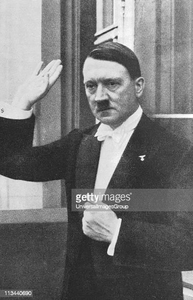 Adolph Hitler German dictator a1933