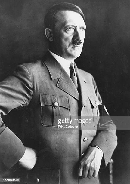 Adolph Hitler German dictator c1935 Hitler became leader of the National Socialist German Workers party in 1921 After an unsuccessful coup attempt in...