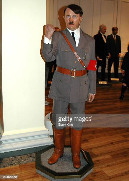 Adolph Hitler waxwork at Madame Tussaud's in London England