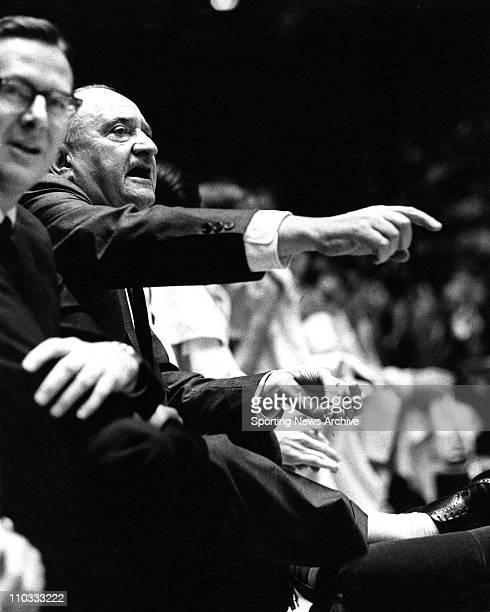 Adolph Rupp Coach University of Kentucky 1970