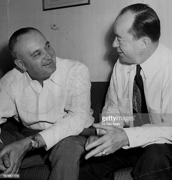 JUL 31 1949 Adolph Rupp cocoach of the United States basketball team in the 1948 Olympics in London and farfamed as the cage strategist at the...
