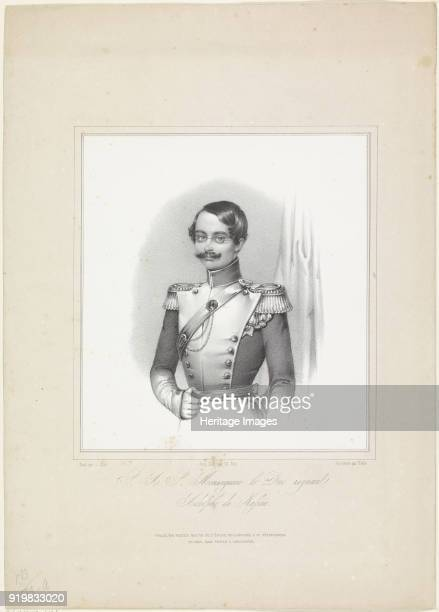 Adolphe I, Duke of Nassau, Grand Duke of Luxembourg , ca 1844-1850. Found in the collection of Russian National Library, St. Petersburg.