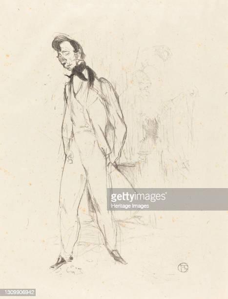 Adolphe or the Sad Young Man , 1894. Artist Henri de Toulouse-Lautrec. .