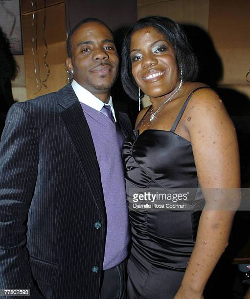 Adonis and Tara Shropshire attend Adonis Birthday Party at Lotus on November 7 2007 in New York City New York