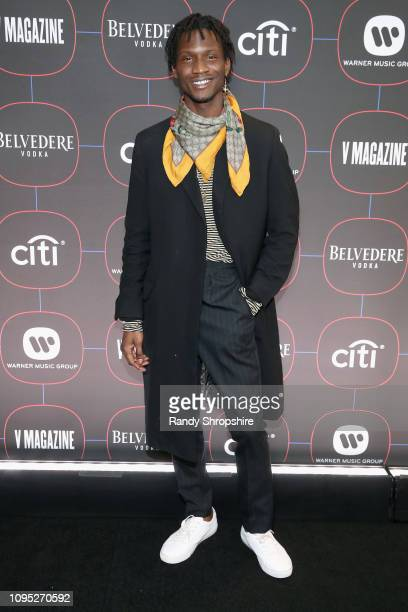 Adonis Bosso attends the Warner Music PreGrammy Party at the NoMad Hotel on February 7 2019 in Los Angeles California