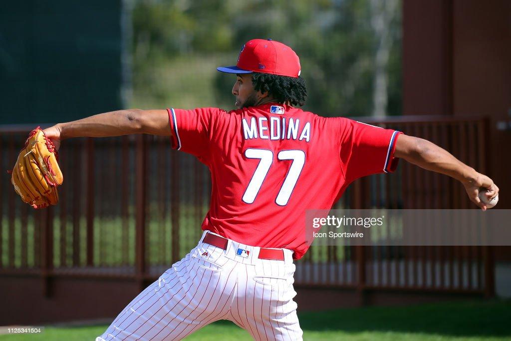 MLB: FEB 16 Phillies Camp : News Photo