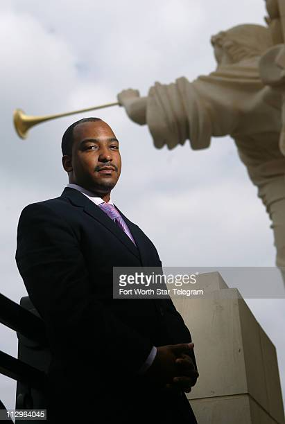 Adonis Rose founder and CEO of the Fort Worth Jazz Orchestra poses for portrait at Bass Hall April 23 in Fort Worth Texas Rose a musician who has...