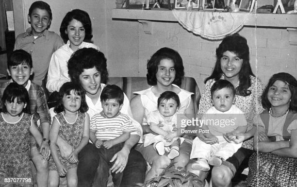 Adopted Family Creates Housing Problem Mrs Sandra Vigil mother of three and her husband Gilbert are now a family of 13 The couple adopted her seven...