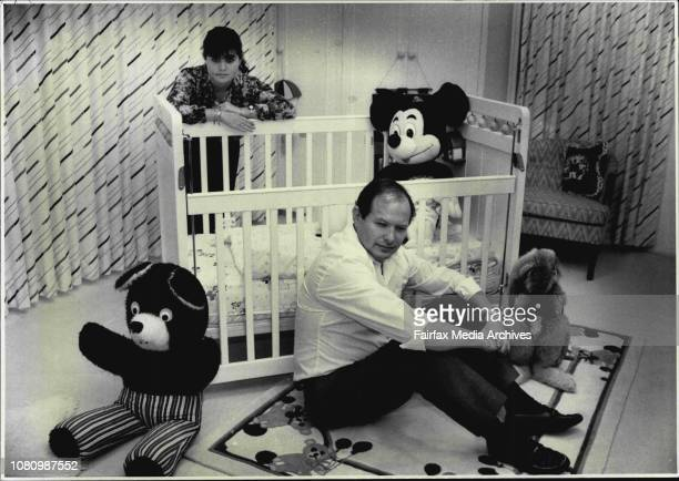 Adoption Mr Eli Fuchs with his 18 year old daughter Nicole pictured in the nursery room that awaits their adopted babyAnd waiting in Vaucluse Eli...