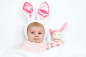 http://www.istockphoto.com/photo/adorable-cute-newborn-baby-girl-in-easter-bunny-costume-and-ears-gm917716570-252465506