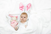 http://www.istockphoto.com/photo/adorable-cute-newborn-baby-girl-in-easter-bunny-costume-and-ears-gm933450870-255715916