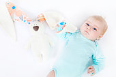 http://www.istockphoto.com/photo/adorable-cute-newborn-baby-girl-with-easter-bunny-toy-gm917717136-252465617