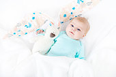 http://www.istockphoto.com/photo/adorable-cute-newborn-baby-girl-with-easter-bunny-toy-gm933451136-255716004
