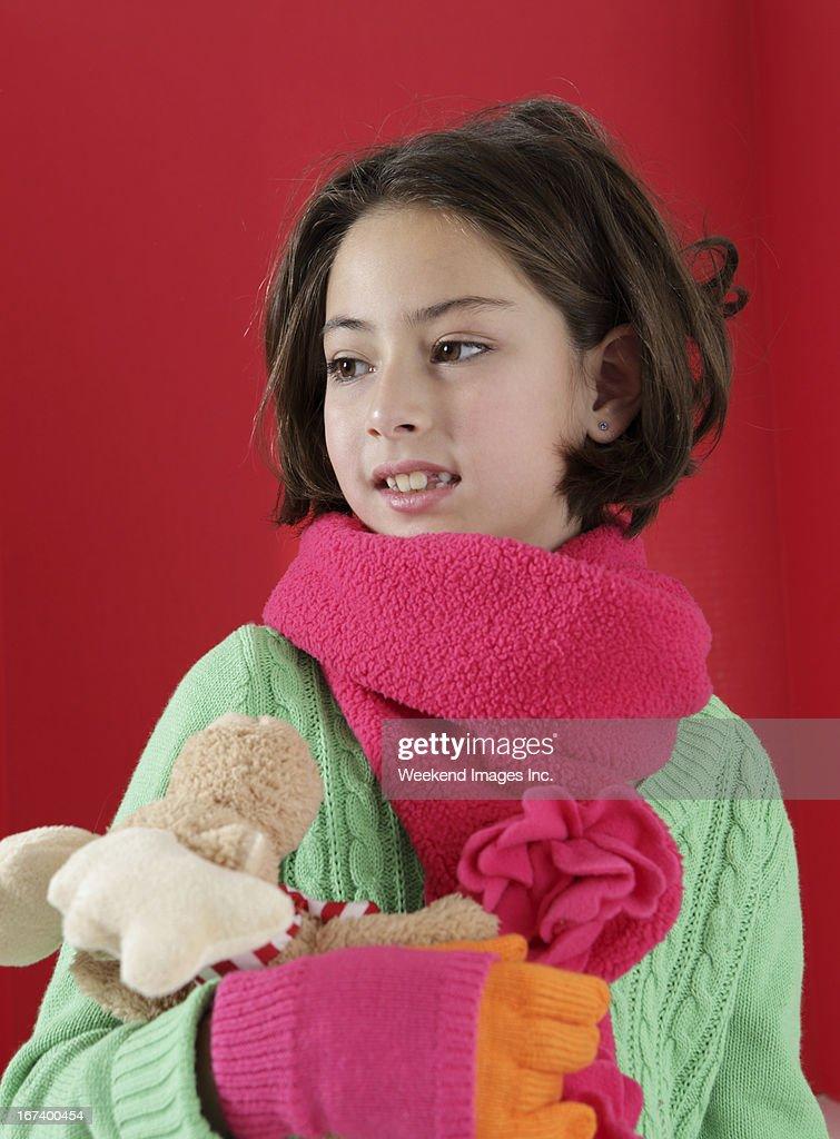 愛らしい女の子 : ストックフォト