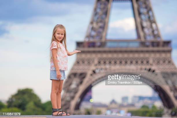 Eiffel Tower 8x10 FT Photo Backdrops,Eiffel Tower Trees River Bridge Water Daytime Landmark Oil Painting Design Background for Child Baby Shower Photo Vinyl Studio Prop Photobooth Photoshoot