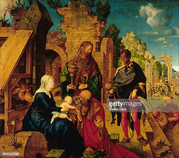 Adoration of the Magi by Albrecht Durer