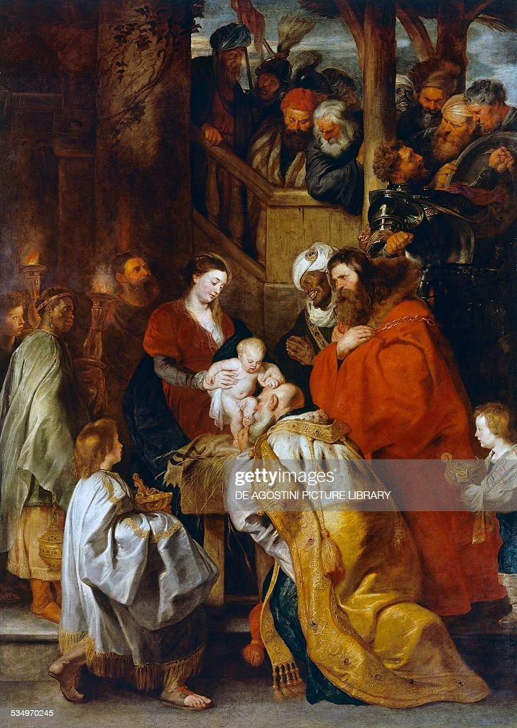 Adoration of the Magi... : News Photo