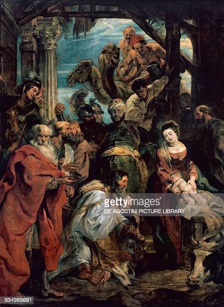 Adoration of the Magi by Peter Paul Rubens oil on canvas Belgium 17th century Antwerp Koninklijk Museum Voor Schone Kunsten