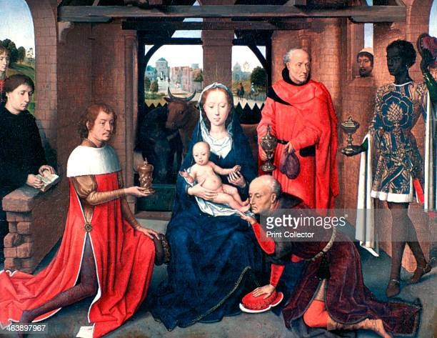 'Adoration of the Magi Triptych' Central Panel c14531494 Located in the collection at Prado Museum Madrid
