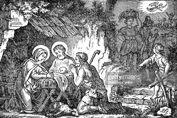 Adoration of the Shepherds in the Nativity of Jesus in art is a scene in which shepherds are near witnesses to the birth of Jesus in Bethlehem...
