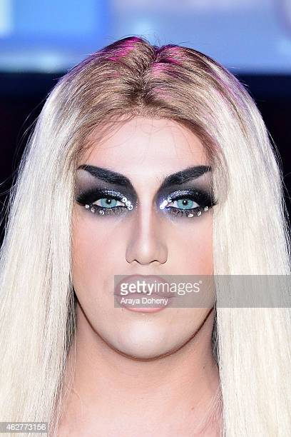 Adore Delano attends 'RuPaul's Drag Race' Battle Of The Seasons 'Condragulations' Tour LA Event at The Belasco Theater on February 4 2015 in Los...