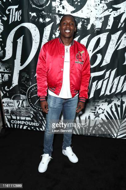 Adoree' Jackson attends Players' Night Out 2019 hosted by The Players' Tribune featuring the NBPA's Players' Voice awards at The Dream Hotel on July...