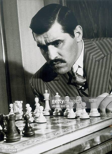 Adorf Mario Schauspieler D in dem Film 'Schachnovelle' 1960