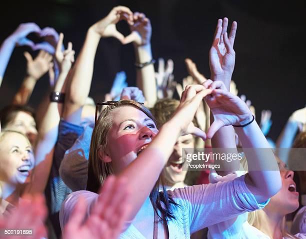 Admiratif les fans