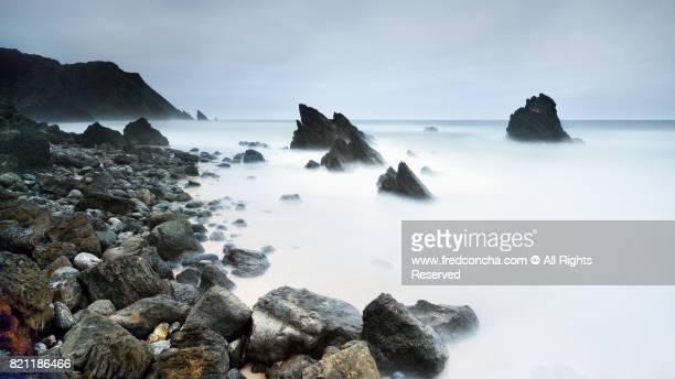 Adraga beach, beautiful beach in Portugal