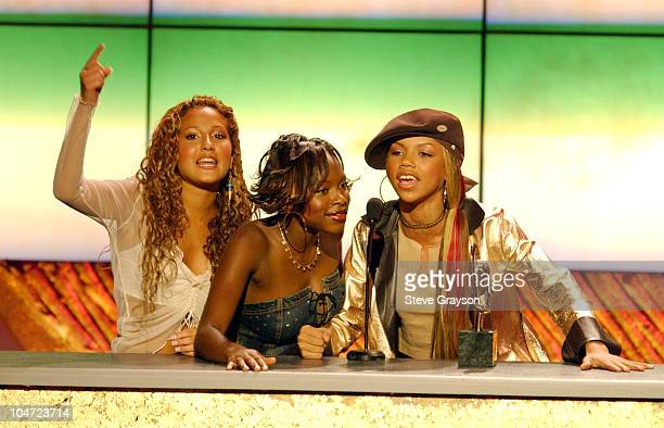3LW adresses the audience after winning Best RB/Soul Album of the year at the The 7th Annual Soul Train Lady Of Soul Awards