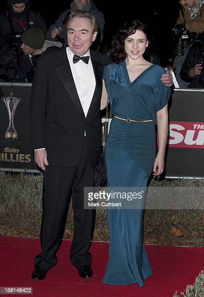Adrew Lloyd Webber And Sophie Evans Arrives At A Night Of Heroes The Sun Military Awards At The Imperial War Museum In Kennington South London