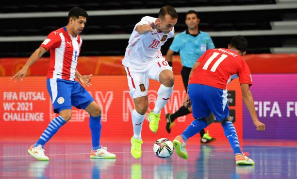 LTU: Paraguay v Spain: Group E - FIFA Futsal World Cup 2021