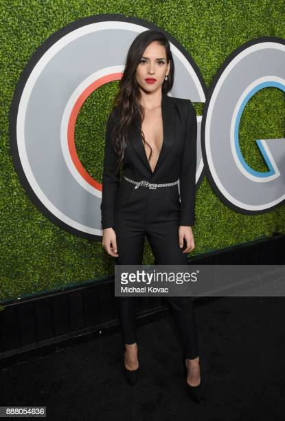 Adria Arjona attends the 2017 GQ Men of the Year party at Chateau Marmont on December 7 2017 in Los Angeles California