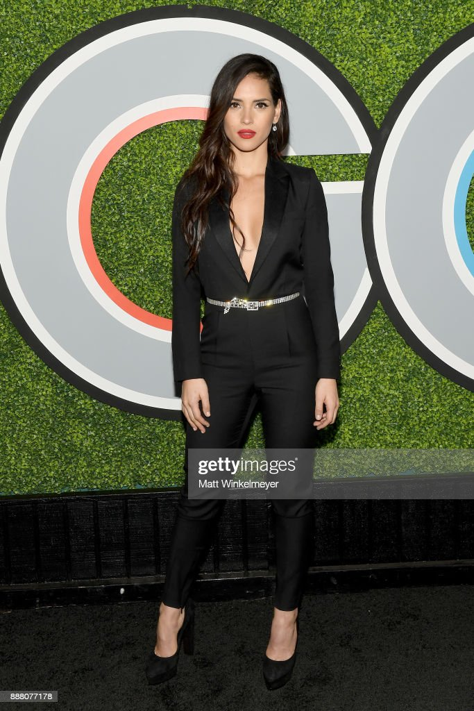 Adria Arjona attends the 2017 GQ Men of the Year party at Chateau Marmont on December 7, 2017 in Los Angeles, California.