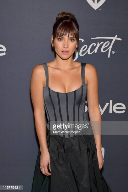 Adria Arjona attends The 2020 InStyle And Warner Bros 77th Annual Golden Globe Awards PostParty at The Beverly Hilton Hotel on January 05 2020 in...