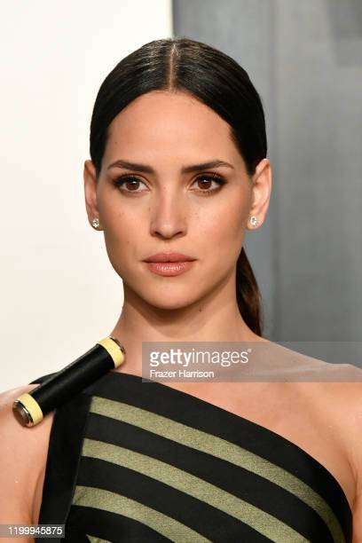 Adria Arjona attends the 2020 Vanity Fair Oscar Party hosted by Radhika Jones at Wallis Annenberg Center for the Performing Arts on February 09 2020...