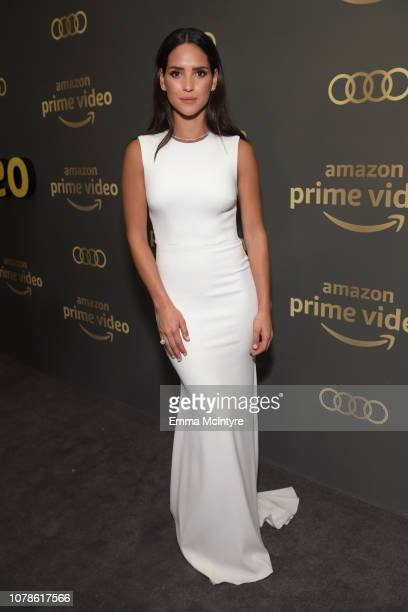 Adria Arjona attends the Amazon Prime Video's Golden Globe Awards After Party at The Beverly Hilton Hotel on January 6 2019 in Beverly Hills...