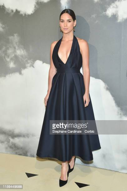 Adria Arjona attends the Christian Dior Haute Couture Fall/Winter 2019 2020 show as part of Paris Fashion Week on July 01 2019 in Paris France