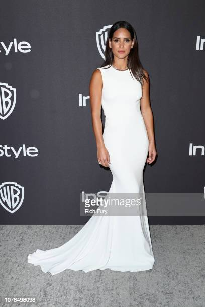 Adria Arjona attends the InStyle And Warner Bros Golden Globes After Party 2019 at The Beverly Hilton Hotel on January 6 2019 in Beverly Hills...