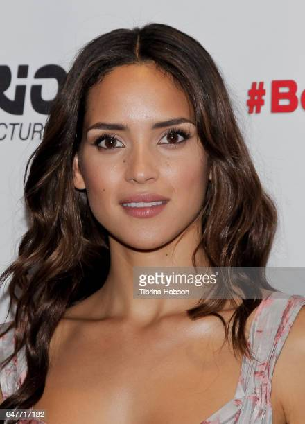 Adria Arjona attends the screening of 'The Belko Experiment' at Aero Theatre on March 3 2017 in Santa Monica California