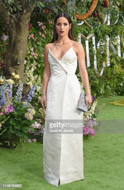 Adria Arjona attends the World Premiere of new Amazon Original Good Omens at the Odeon Luxe Leicester Square on May 28 2019 in London England