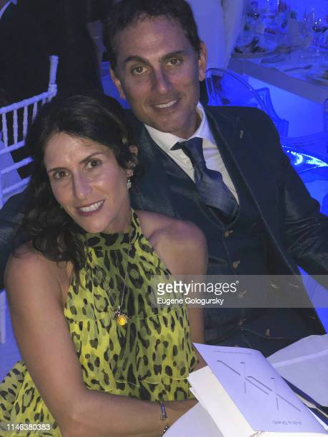Adria Sheth and Brian Sheth attend the DuJour Media's Jason Binn and Naomi Watts Memorial Day KickOff at Brooklyn Chop House at the Capri Hotel on...
