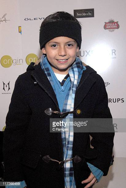 Adrian Alonso during 2007 Park City La Misma Luna Premiere After Party in Park City Utah United States